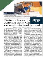 06-05-18 Refrenda compromiso  Adrián de la Garza  en materia ambiental