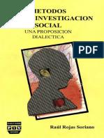 ROJAS_SORIANO_Metodos Para La Investigacion Social