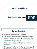 5. Introduction and Conclusion
