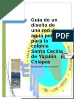 TERMINADO PROYECTO Abastecimiento de agua en el municipio de Yajalón Chiapas - SANTA CECILIA.doc
