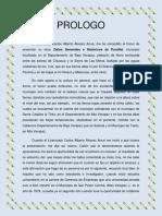 B. PROLOGO, a Monografía de PurulháLic. Jorge Vinicio Vaides Arrué
