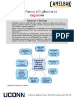 Influence of Hydration on Cognition