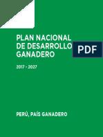 Plan Nacional Ganadero 2017 2027