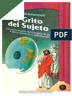 El grito del sujeto - Del teatro mundo del Evangelio de Juan al perro mundo de la globalización · Franz Hinkelammert