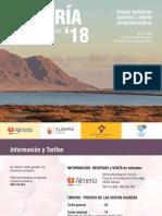 Calendario Visitas Guiadas Almeria Spain 4 Trimestre 2016