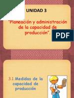 Unidad-3-Planeacion y Admon de La Capacidad de Produccion