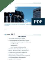 Introducción Al Mercado de Valores, Análisis Fundamental y Análisis Técnico