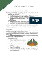 Fichamento Da Aula_vulcanismo e Tectonismo