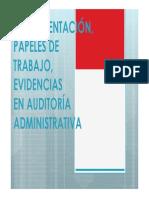 Instrumentación, Papeles de Trabajo, Evidencias_2018 i