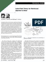 1986ACIThemodifiedcompressionfieldtheoryforRCelementssubjectedtoshear.pdf