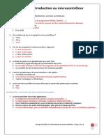QCM Pour l'Introduction Au Microcontrôleur_prof