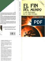 El Fin Del Mundo y Los Misterios de La Vida Futura - Charles Arminjon
