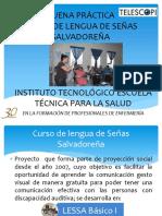 7 Curso de Lengua de Senas Salvadorena ITETSPS