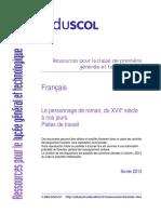 2003 -Le personnage de roman, du XVIIe a nos jours.pdf