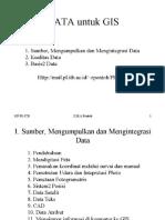 PDS04-Data Untuk GIS
