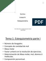 QUIM002.Unidad II.estequiometria