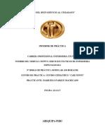 INFORME Del Geriatrico
