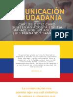 COMUNICACIÓN Y CIUDADANÍA EN COLOMBIA