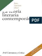 Selden, Raman et al. (1997) - La teoría literaria contemporánea.pdf