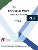 GUÍA N°2 OPERACIONES BÁSICAS DE LABORATORIO