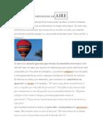 DEFINICIÓN DE AIRE