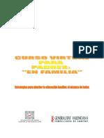 CURSO EN FAMILIA PARA LA COMUNITAT VALENCIANA