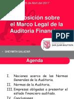 Marco Legal Auditoria Financiera