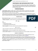 Termodinamica y Ciclos de Refrigeracion