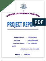 Project Report Job Satisfaction