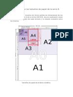 297dimensiones de Los Tamaos de Papel de La Serie A