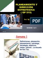 Planeamiento y Dirección Estrategica Sem 1 Al 11