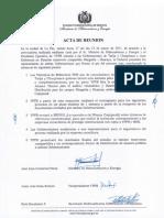 Acta de Reunión Gob Tarija Ypfb-23 de Marzo