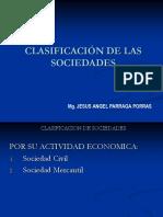 2.1.1.1 Clasificación de Las Sociedades