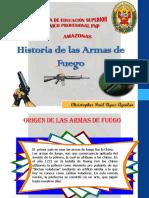Historia de Las Armas de Fuego Exp