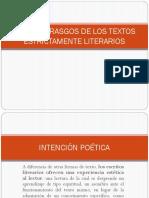 ALGUNOS RASGOS DE LOS TEXTOS ESTRICTAMENTE LITERARIOS.pptx