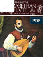 Elizabethian Lute by George Weigand