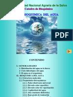 Bioquimica Del Agua