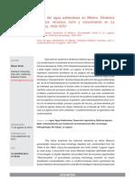 Crisis Del Agua Subterránea en México_Wolfe 2014