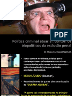 Política Criminal atuarial