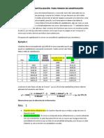Tablas de Capitalizacion Para Fondos de Amortizacion