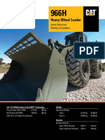 Brochure Caterpillar Wheel Loader CF 966H