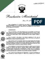 RM 1001-2017-MINSA Que Aprueba La Directiva Administrativa N241-MINSA-2017-DGAIN Proceso de Actualizacion de Los Catalogos de Las Identificaciones Estandar de Datos en Salud