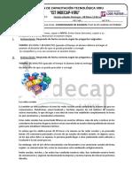 Examen Práctico Word 2013 Indecap Marlon 2018