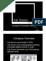 Yair Doram Company  Presentation V