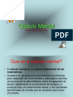 Calculo mental .ppt