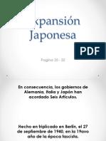 Expansión Japonesa
