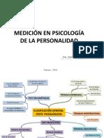 MEDICION EN PSICOLOGIA DE LA PERSONALIDAD. Dra. Iraima V. Martínez M.odp