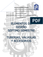 1a Parte Del Elem. de Diseño-tuberias Valvulas y Accesorios