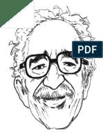 Caricatura Garcia Marquez