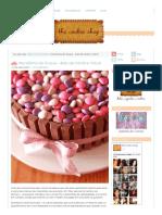 Receitinha Do Truque – Bolo de Kitkats e M&Ms – the Cookie Shop
